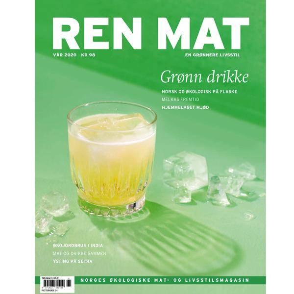Bilde av Ren Mat magasinet 2020 Vår Grønn Drikke