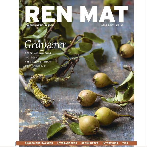 Bilde av Ren Mat magasinet 2017 Høst Gråpærer