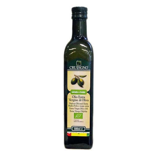 Bilde av Crudigno extra virgin Olivenolje 500 ml