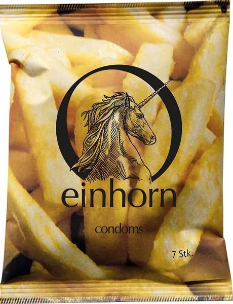 Bilde av Einhorn 7-pk veganske kondomer Food Porn *1 igjen*