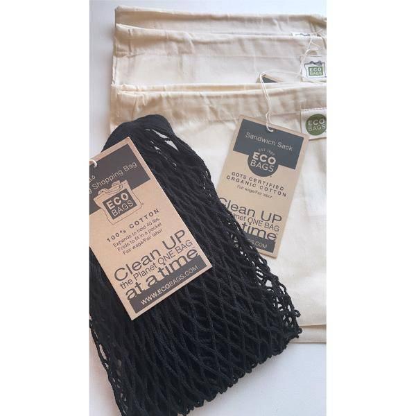 Bilde av ECOBAGS® Zerowaste pakke Black