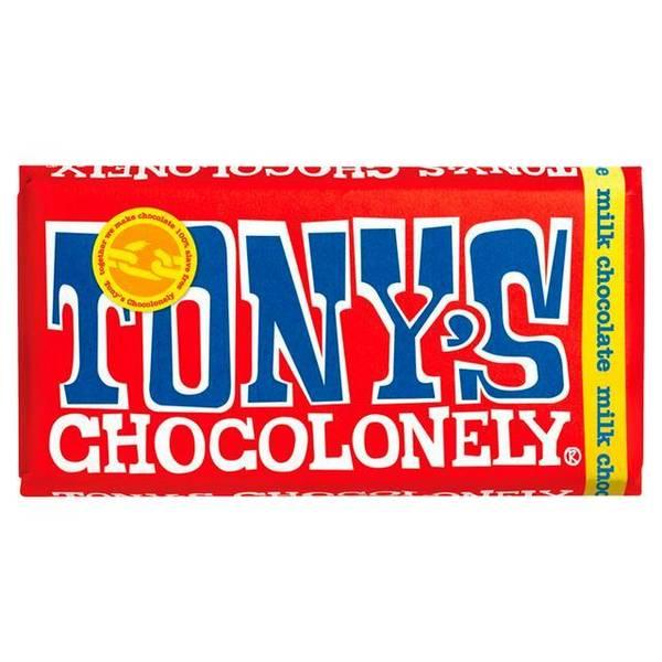 Bilde av Tony's Chocolonely melkesjokolade 180 g
