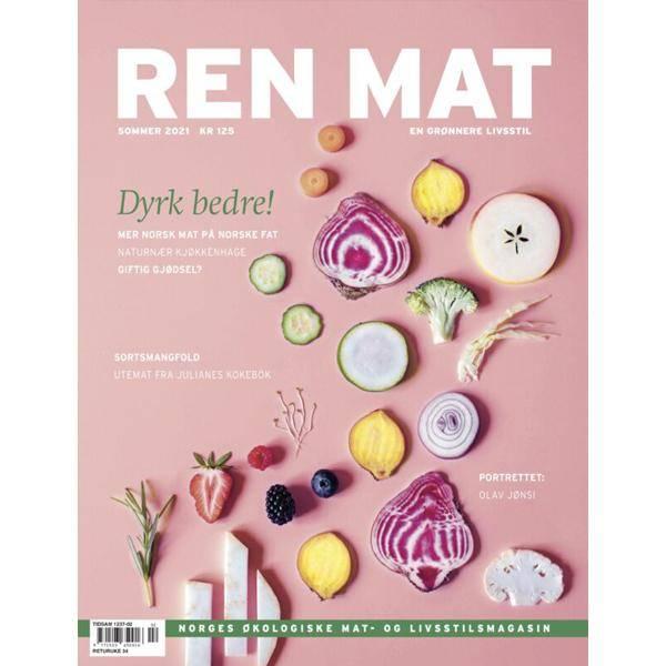 Bilde av Ren Mat magasinet 2021 Sommer Dyrk Bedre