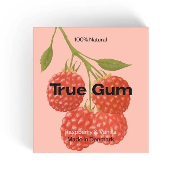 Bilde av True Gum Raspberry & Vanilla