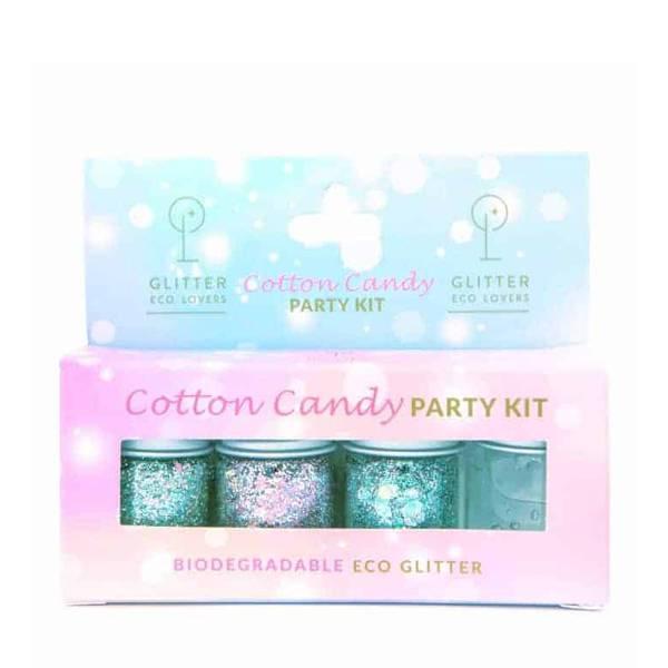 Bilde av Glitter Eco Lovers Cotton Candy Party Kit